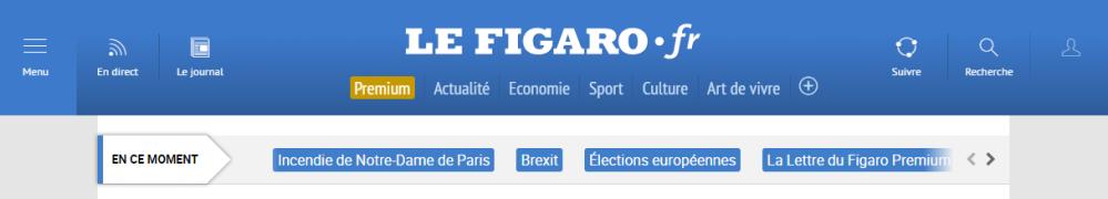Le Figaro Europeennes 2019